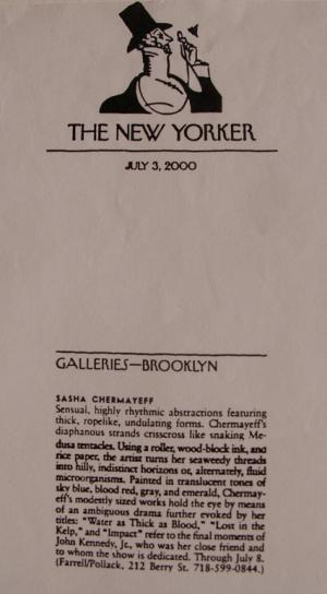 New Yorker Magazine, July 3, 2000